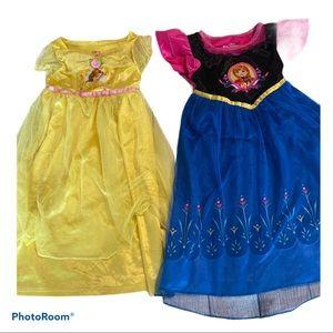 Disney Frozen & Belle Dress Up like a Princess